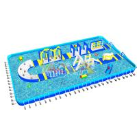 Wholesale U-Turn Inflatable Aqua Amusement Park from china suppliers