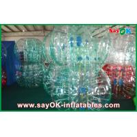 China Clear / Red / Blue Inflatable Soccer Bubble Ball Giant Human Bubble Ball on sale