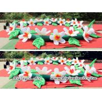 Wholesale 10m Wedding Flower Chain, Decorative Inflatable Flower String for Party from china suppliers
