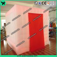 Wholesale 2.5*2.5*2.5 Lighting Inflatable Photo Booth/Wedding Decoration Inflatable from china suppliers
