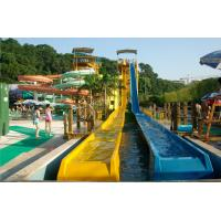 Wholesale Fiberglass Speed Hump Water Slide Aqua Park Equipment 13.5m Height 1 Person / Lane from china suppliers