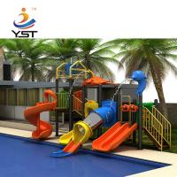China Professional Kids Water Play Equipment 980 * 540 * 610 Cm CAD Instruction on sale