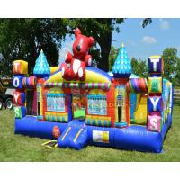 China Toy Town Inflatable Jumping Castle Kids Commercial Grade Amusement Park on sale