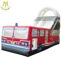 Wholesale Hansel entertainment products beach equipment inflatable water slide for adult from china suppliers