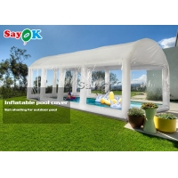 Wholesale Custom Airtight PVC Inflatable Swimming Pool Cover Tent from china suppliers