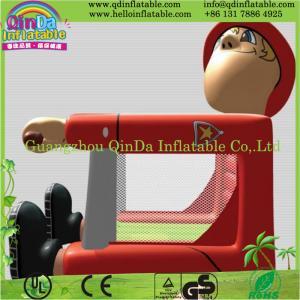 China Guangzhou QinDa Inflatable PVC Bouncy Castle, Inflatable Bouncy Castle on sale
