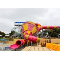 Wholesale Medium Tornado Water Slide Commercial Extreme Water Slides For Gigantic Aquatic Park from china suppliers