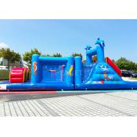 Wholesale 14 M Long Inflatable Tunnel Outdoor Obstacle Course Equipment Electric Blower from china suppliers