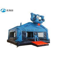 Wholesale Blue Dog Inflatable Bounce House Inflatable Kids Jumping Castle Customized Size from china suppliers
