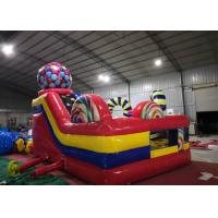 Wholesale Custom Inflatable Amusement Park / High Strength Bouncy Jumping Castles from china suppliers