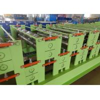 Quality Automatic Hydraulic cutting Roof And Wall Panel Steel Sheet Roll Forming Machine for sale