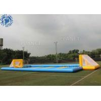 Giant Outdoor Inflatable Soccer Field Football Pitch Inflatable Games