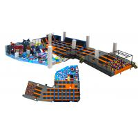 Wholesale 623M2 China Supply 2017 Giant Children Indoor Amusement Trampoline Park with Foam Pit from china suppliers