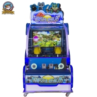 Wholesale Double Shot Dazzling Pictures 3D Coin Operated Game Machine from china suppliers