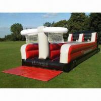 Buy cheap Inflatable Bungee Run, Made of 0.55mm PVC Tarpaulin from wholesalers