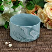 Wholesale Handmade Marble Candle Container / candle holders large Recyclable from china suppliers