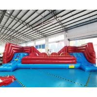 Wholesale Adult Inflatable Sports Games Interactive Bouncer Big Baller Wipeout from china suppliers