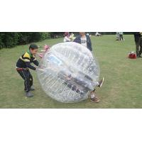 Wholesale Transparent Body Zorb Ball, Inflatable Bumper Ball for kiddies from china suppliers