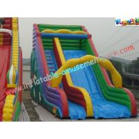 Wholesale Colorful Commercial Inflatable Water , Giant Inflatable Race Slide For Children from china suppliers