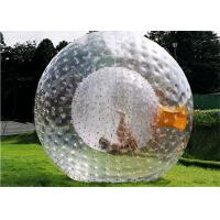Wholesale Diam 2.6m Giant Inflatable Human Hamster Ball Customized Design Is Acceptable from china suppliers