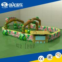 Buy cheap inflatable twister game, inflatable bouncer castle from wholesalers