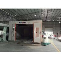 LED Light Infrared Spray Booth , Outside Paint Booth 8M Length 4.5 M Width