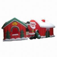 Buy cheap Inflatable Christmas Decoration with Santa, CE/UL/GS Certified from wholesalers