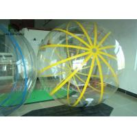 Wholesale 1.0mm PVC / TPU Inflatable Walk On Water Ball Walking Ball Self-Stand 2m Diameter from china suppliers