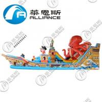 Wholesale Durable Inflatable Bouncer Slide Inflatable Octopus Slide Fire Retardant from china suppliers