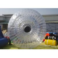 Wholesale Outdoor Inflatable Water Zorb Ball , Inflatable Bubble Ball For Beach Rolling Amusement from china suppliers