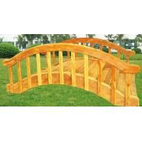 Wholesale Durable wooden arch bridge ,wooden outdoor playground for kids from china suppliers