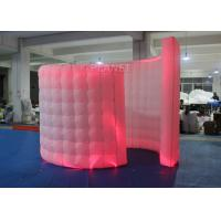Wholesale Spiral Blow Up Photo Booth Two Doors With Doorway -20 To 60 Degrees Working Temp from china suppliers