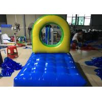 Wholesale Hurdles Fun Run Giant Inflatable Games , Giant Inflatable Games With Inflatable Tunnel from china suppliers