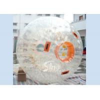 Wholesale TPU Giant human inflatable zorb ball suit with reinforce entrance from Sino Inflatables from china suppliers