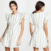 Wholesale Woman Dress Summer 2018 Striped Casual Designer Womens Dresses from china suppliers