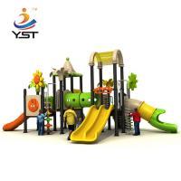Community Kids Backyard Slide 970 * 630 * 440 Cm High Temperature Baking Finished