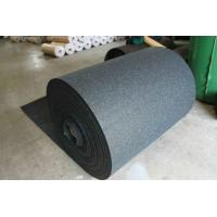 Wholesale Wear Resistant Rubber Flooring Sheet Roll Width 15-60mm For Tennis Court from china suppliers