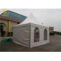 Wholesale Aluminum Frame Pagoda Party Tent Customized 5*5M PVC Use In Sunshade Cover from china suppliers