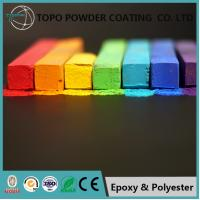 China Durable RAL 2012 Thermoset Powder Coating For Computer Bodies Sandy Appearance on sale