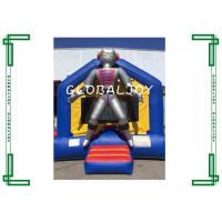 Wholesale Playground Commercial Inflatable Bouncers for kids , Jumping bouncer caslte with 0.55mm PVC tarpaulin from china suppliers