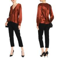 Wholesale Fall Clothing Ropa Mujer Satin Long Sleeve Blouse For Women Ladies from china suppliers