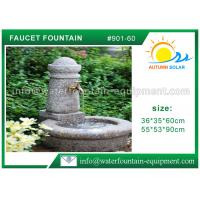 Buy cheap Hand Carved Cast Stone Outdoor Fountains For Backyard Easy Installation from wholesalers