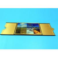 Wholesale Hardcover Book Printing Services with Golden Edge Sewing Binding 210mm x 297mm from china suppliers