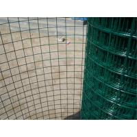 Wholesale Economic Green PVC Coated Wire Mesh Rolls , Welded Wire Fence For Fencing from china suppliers