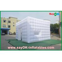 Quality Opening Window Inflatable Cube Tent Middle Door Inflatable Party Tent for sale