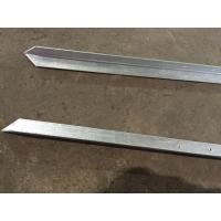 Wholesale Australian Farm Metal Fence Accessories / Steel Fence Posts Ground Post from china suppliers
