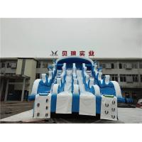 Wholesale Giant Inflatable Water Slides For Swimming Pool , Adult Inflatable Water Park Slide from china suppliers
