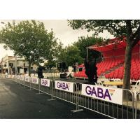 Wholesale customized metal crowd control barrier, portable barricades, pedestrian barriers,china manufacturers from china suppliers