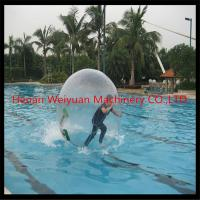 Wholesale tpu transparent inflatable big water ball 2.5M diameter cheapest sale in China from china suppliers