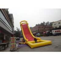 Wholesale Exciting Fire - Resistant Water Inflatable Rentals /  Inflatable Pool Slide For Beach from china suppliers